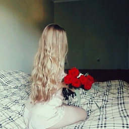 freetoedit rose blonde curly colora