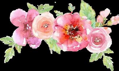 flowercrown watercolor crown diadema tiara ftesticker ftestickers freetoedit