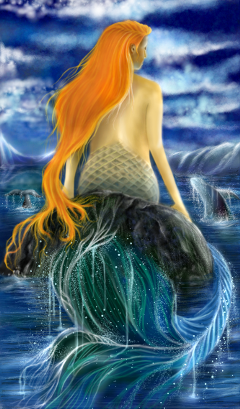 wdpwhale painting madewithpicsartdrawingtools mydrawing mermaid