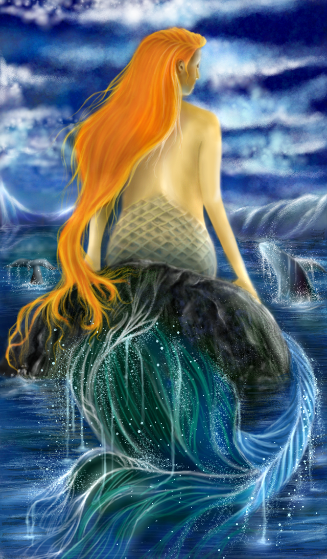 #wdpwhale #painting # digitalpainting #madewithpicsartdrawingtools  #mydrawing #mermaid #whale #sea #fantasy sorry folks...this was an old work which was incomplete for long, somehow added some whales in the background to enter the contest 😂 returning to picsart Painting after sooooo long!