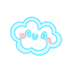 cloud cute kawaii ftestickers freetoedit