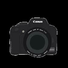 canon camera stickers stickerpng stickertumblr