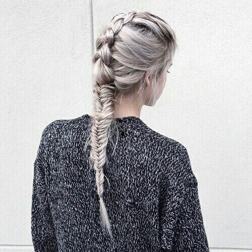 #remixit #dailyremixit #l4l #remix #tumblr #hair #braid #purple #girl #freetoedit
