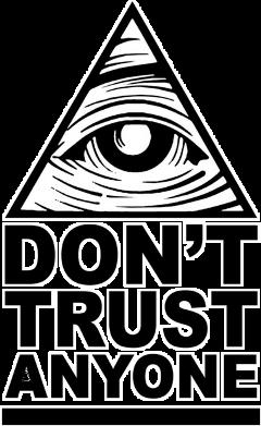 illuminati donttrustanyone stickers freetoedit