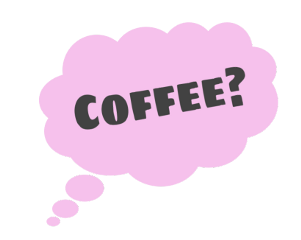 ftestickers callout pink coffee