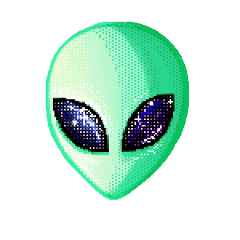 ftestickers alien freetoedit