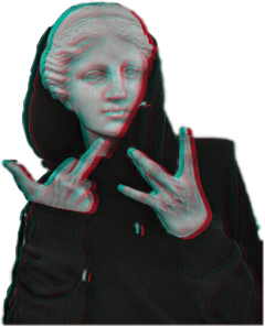 estatua glitch grunge tumblr freetoedit