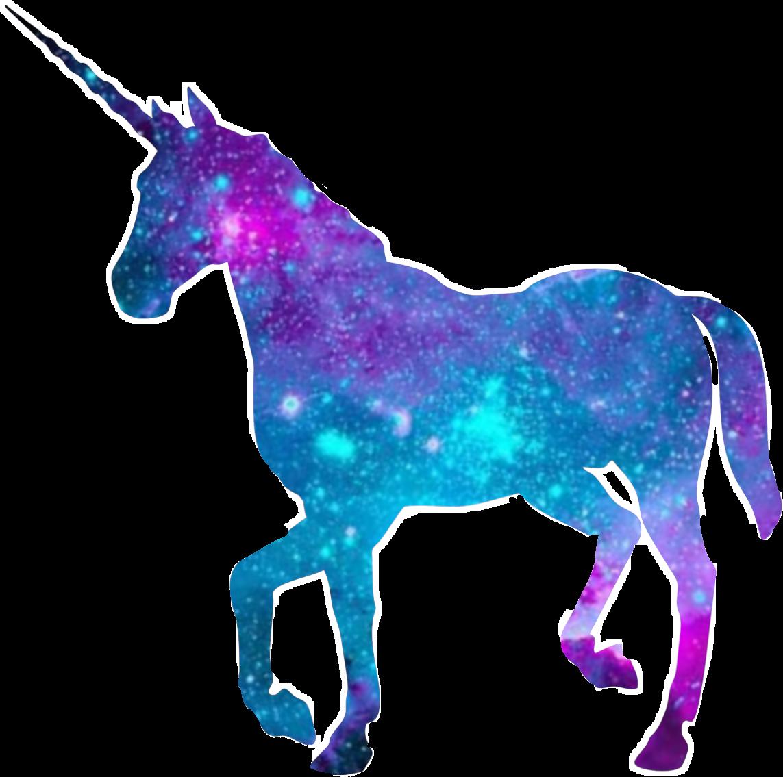 A galaxy unicorn sticker. I hope u like it. unicorn gal...