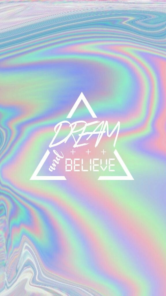 #holographic #wallpaper