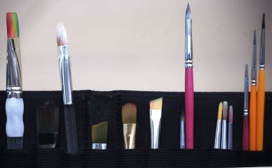 art paint color brushes colorful