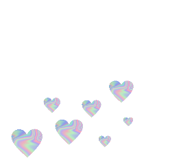 holographicstickers love hart freetoedit