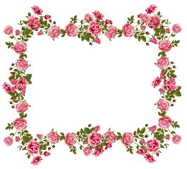 sticker roseframe frame flowers cornice