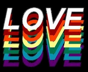 love lgbt colors rainbow lgbtqpride