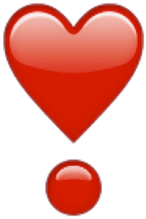 heart emoji iphone