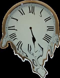 meltingclock clock melting freetoedit
