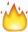 iphoneemoji lit fire emoji freetoedit