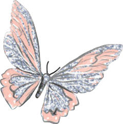 butterfly butterflywings pink glitter sparkly