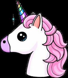 emoji unicorn colorful magic freetoedit