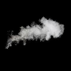 blackandwhite smoke splash freetoedit