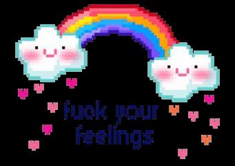 pixel tumblr rainbow cute stickers