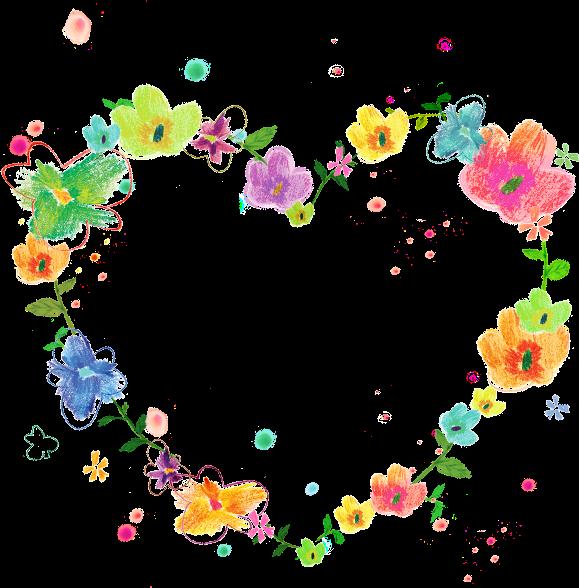 #spring#flowers#frame