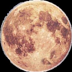 moon bright round pretty freetoedit