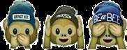эмодзи обезьянки emoji freetoedit