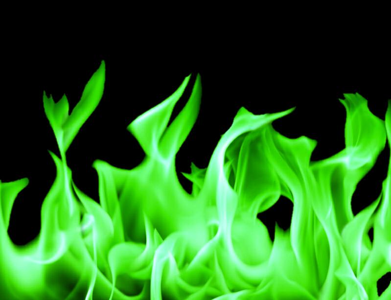 #fire #green #burn #hot #transparentbackground #transparent