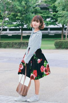 freetoedit skirt girl bag