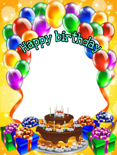 frame happybirthday stickers freetoedit
