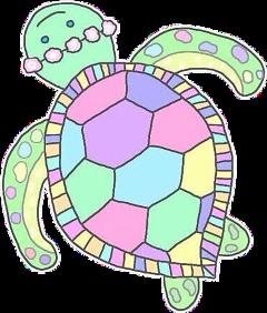 turtle pastel hd overlays tumblr