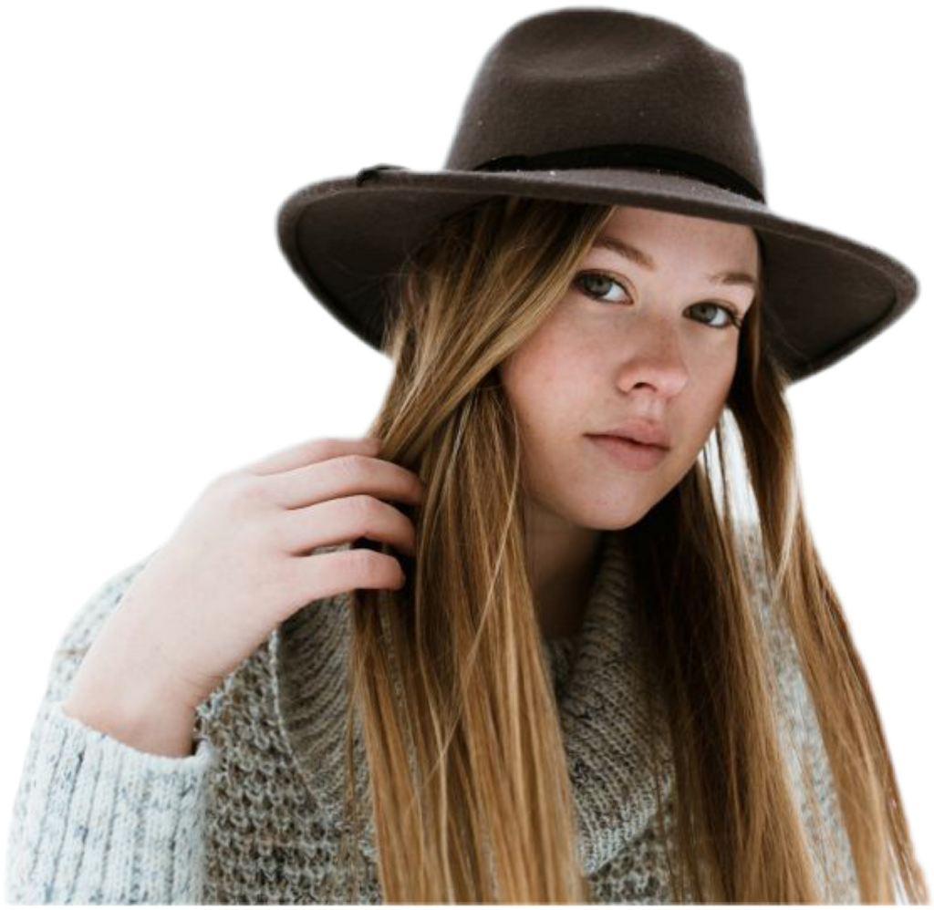 #girl #hat