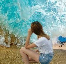 beach beachlife ocean sea water freetoedit