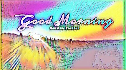 freetoedit goodmorning rainbow remixit