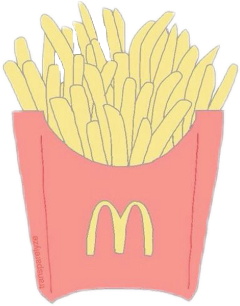 tumblr mcdonalds fries freetoedit