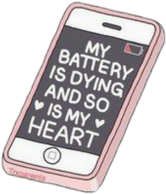 mybatteryisdyingsoismyheart tumblr dying heart battery