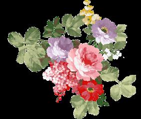 flowers vintage bouquet grap rose freetoedit