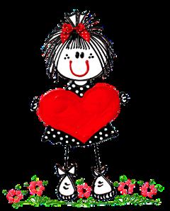 niña amor corazon freetoedit ni