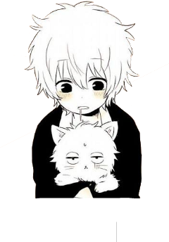 anime kawaii cat freetoedit