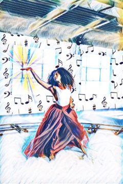 freetoedit dance excitement expression joy