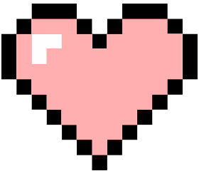 heart pink pixel freetoedit