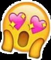 sticker emoji 😱 😍 freetoedit