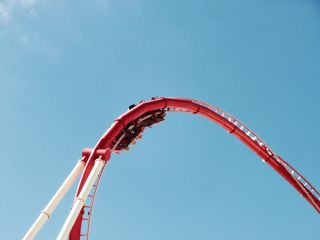 freetoedit sky amusement rollercoaster fun
