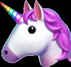 unicorn unicornio tumblr overlay emojis