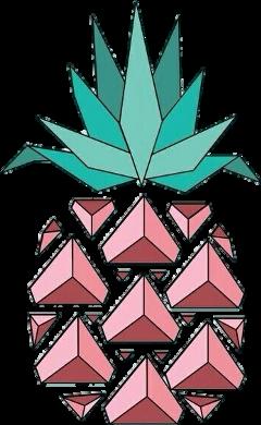pinneapple pink diamond tropical tumblr freetoedit