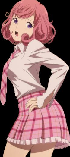 кафуку тянка😺 милота😍 розовый юбка