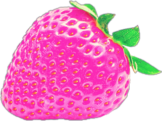 fruitstickers strawberry freetoedit