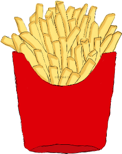 food papas chips mcdonald animated