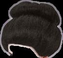 sumo hair wig geisha freetoedit