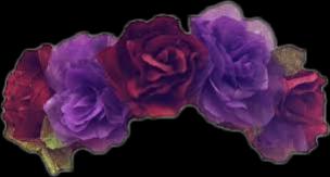 freetoedit flower corona violet